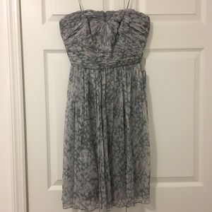 NWT J.Crew Marbella Strapless Dress in Watercolor